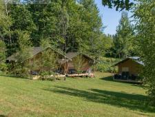 vente d'un beau camping familiale, avec piscine, dans du nord de la dordogne avec cinquante d'emplac