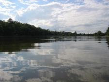 camping avec plan d'eau