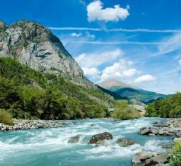 beau camping à vendre alpes-de-haute-provence, situation magnifique