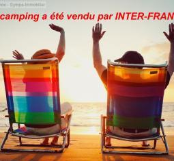 vendu par inter-france !!le plus beau camping en france