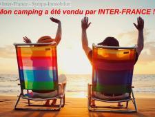 venduvente d'un camping dans l'occitanie