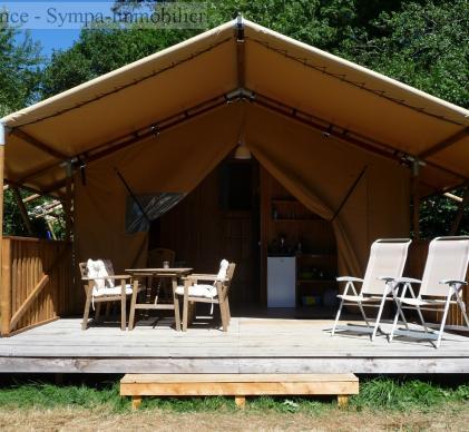 très beau camping à vendre dans l'occitanie avec une trentaine d'emplacements