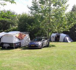 très beau camping dans loccitanie, sud de france