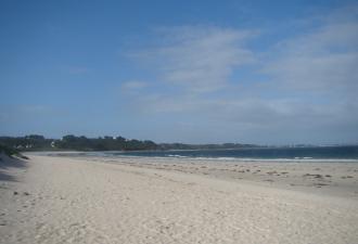 Camping 250m de la plage en Bretagne