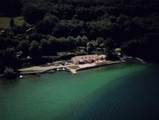 Vend Mur et fond Camping/Restaurant,  Isère