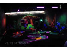 Mini golf Blacklight