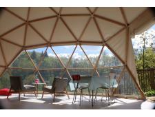 Dôme géodésique 30m² F3