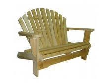 Banc Adirondack 2 places Love Seat en Cèdre Canada