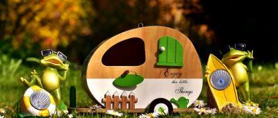 Les résidents peuvent se rendre dans les campings