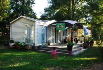 Mobil home résidentiel RIDEAU type Ankara duo, dimensions 11 m x 4 m de large. 6 couchages