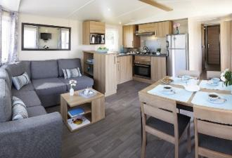 Mobil-home neuf installé habitat possible Oise