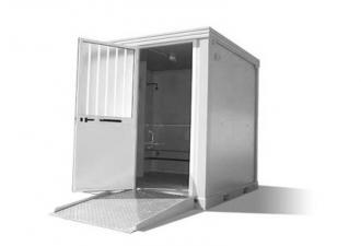 bloc sanitaire mobile adapté PMR