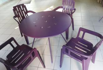 Lot tables et chaises